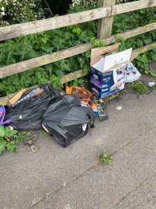 More litter at kilsby 10 03.06.2021